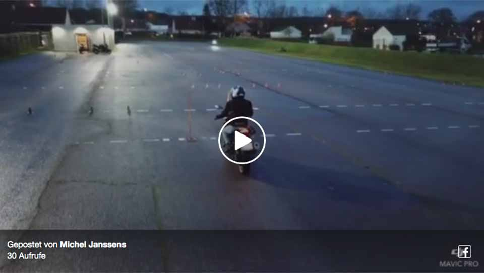 Un drone à l'auto école ! Vidéo (1/2)